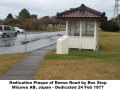 reese-road-dedication-plaque-bus-stop