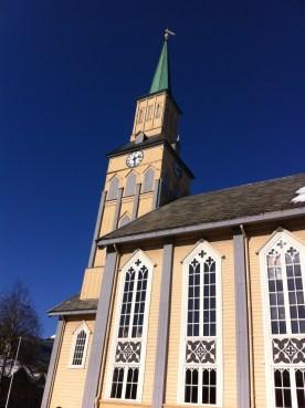 Kirke in the city center