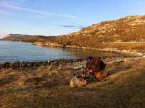 Camping near Harstad