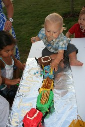 Age 1 - train party