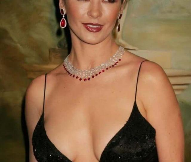 Sexy Pictures Of Catherine Zeta Jones Boobs Make You Want To