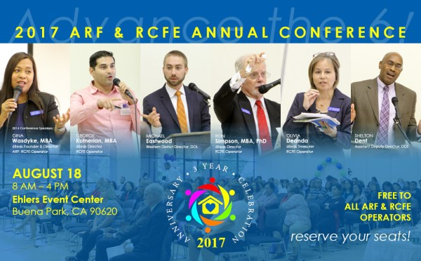 2017 ARF & RCFE Conference