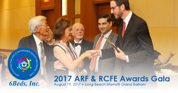 2017 ARF & RCFE Awards Gala