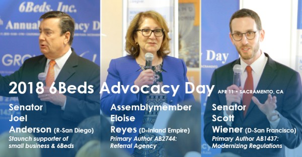 Sen. Anderson, Assem. Eloise Reyes, Sen. Wiener
