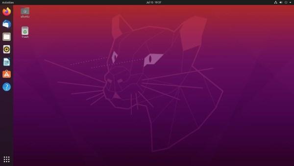 Desktop Ubuntu 20.04 • 1