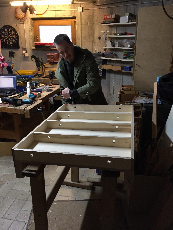 Holz 3D Drucker