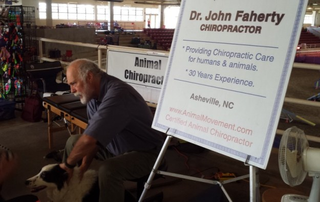 Animal Chiropractor at event