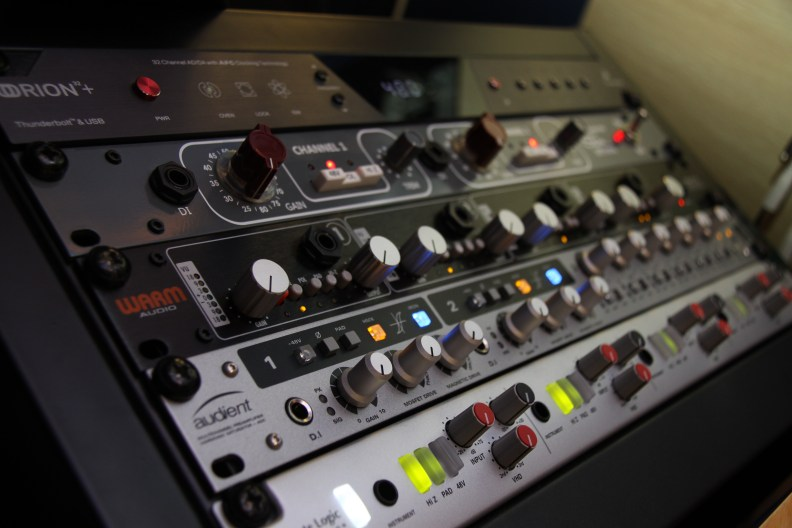 Mic Preamps & converters