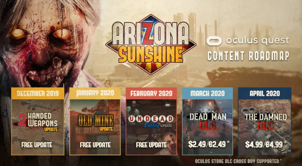 arizona sunshine old mind update