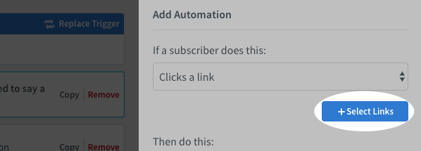 Select your links