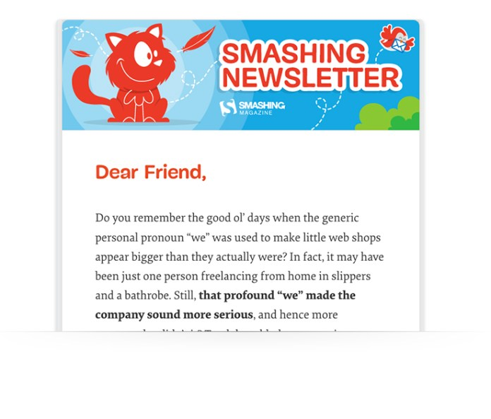 email newsletter examples
