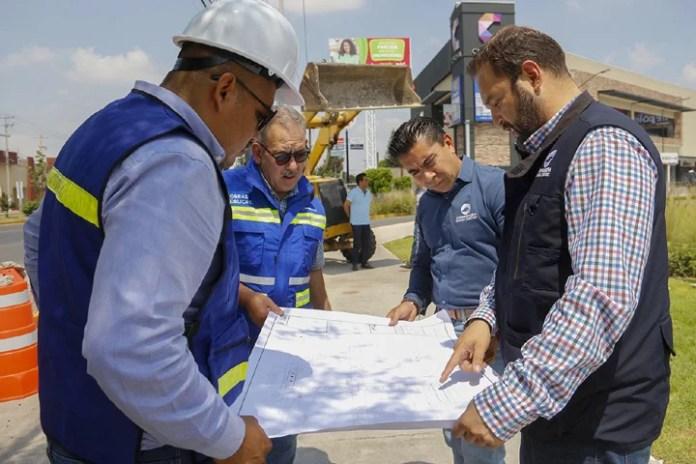 Inició colocación de Puente Peatonal en Citadina, RSP señaló que finalizará en 12 semanas aproximadamente