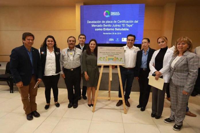 Certifican a El Tepe como Mercado Saludable