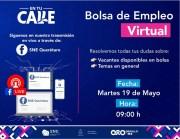 Promocionarán en Querétaro plazas de Bolsa de Empleo Virtual en tiempo real