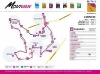 Movilidad Vecinal Corregidora Ruta 2