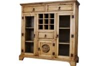 Pine Wine Cabinet From Chuck's Rustic Furniture | Amarillo ...
