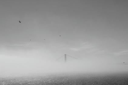 Golden Gate im Nebel VII
