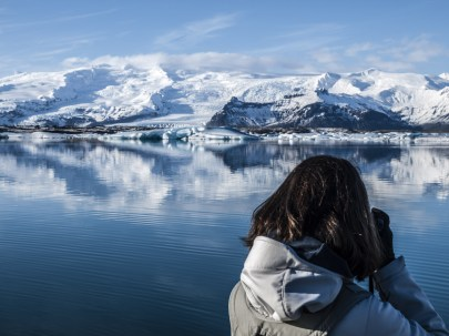 Gletscherlagune - Foto Runólfur Hauksson