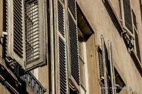 Die Fensterläden von Straßburg