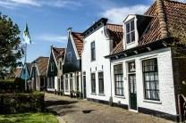 Fischerhäuser in Oudeschild