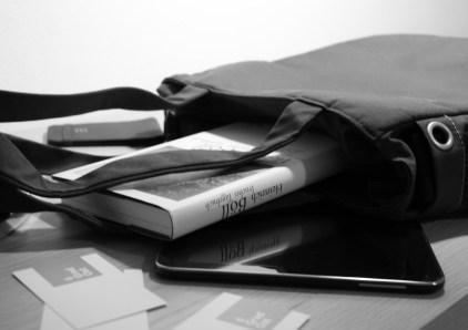 myCloud Tote Bag mit cleveren Fächern für Lektüre, Tablet & Co.