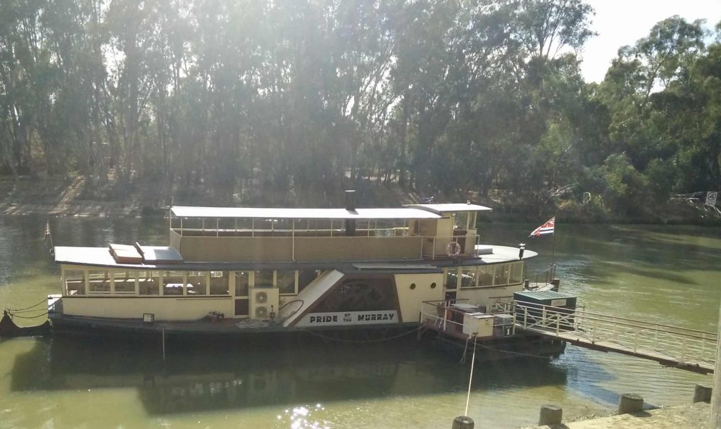 Murray River Paddle Steamer