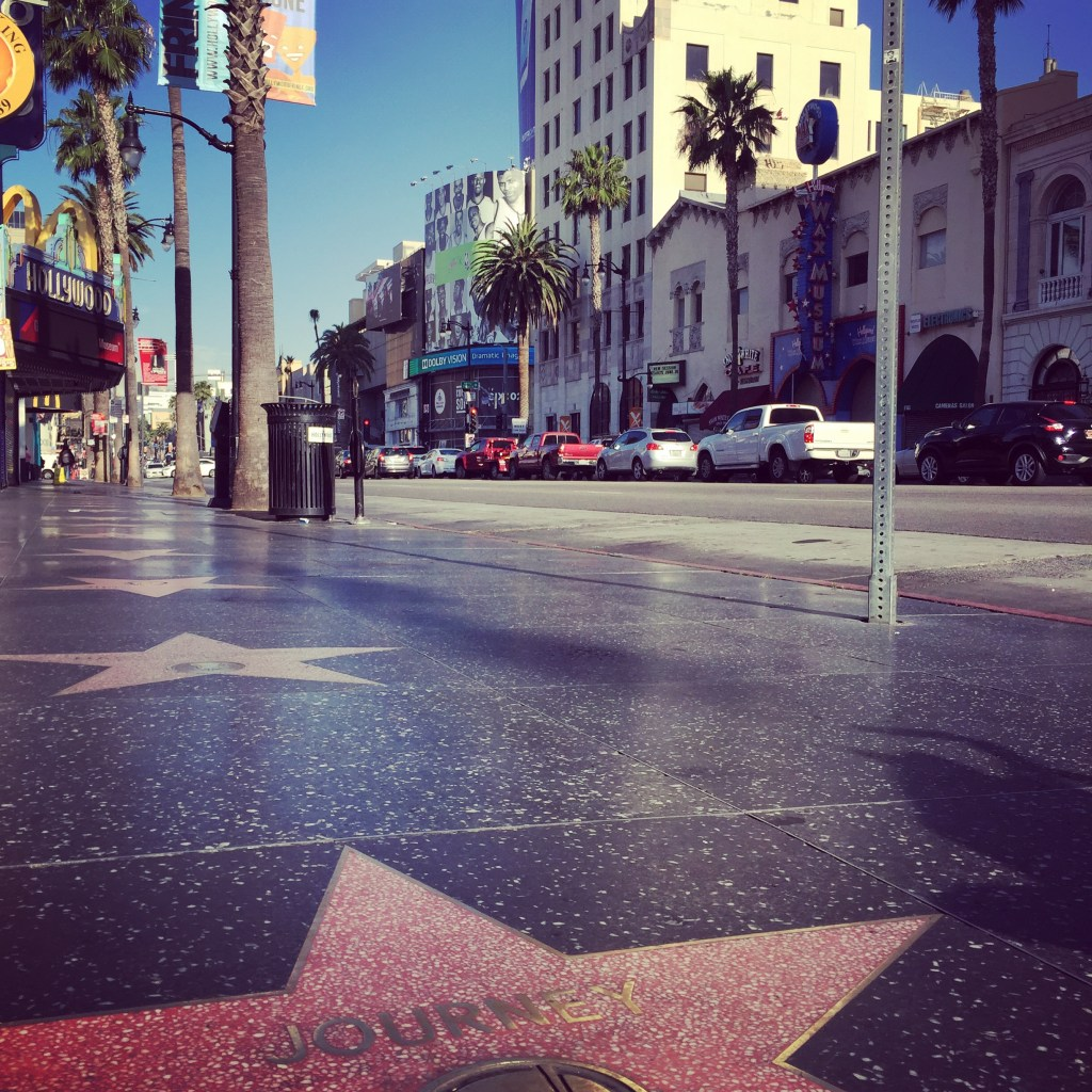 Los Angeles mit Kindern - hollywood boulevard am morgen
