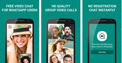 what'a app group audio, video calling feature