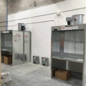 paint booths industrial spray booths