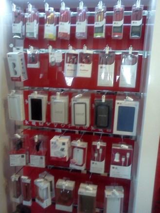 Muchos accesorios y productos que nunca llegaron acá