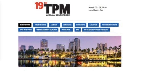 19th TPM Annual Conference
