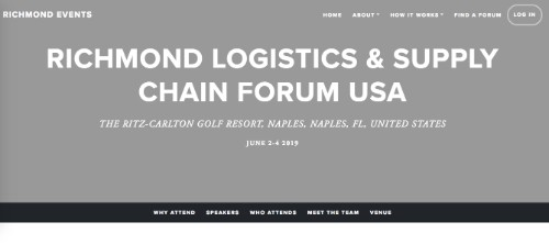 Richmond Logistics and Supply Chain Forum USA