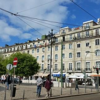 Lisboa - Praça da Figueira pormenor