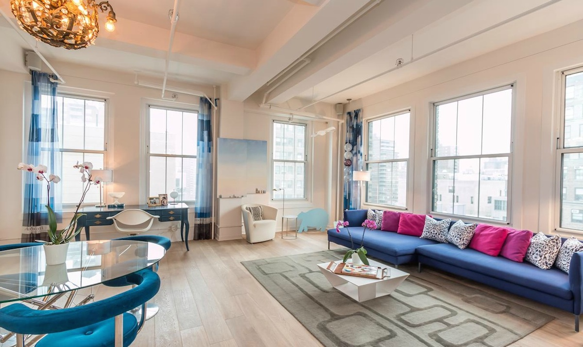 Take In The City From This $2.5M Renovated Chelsea Loft