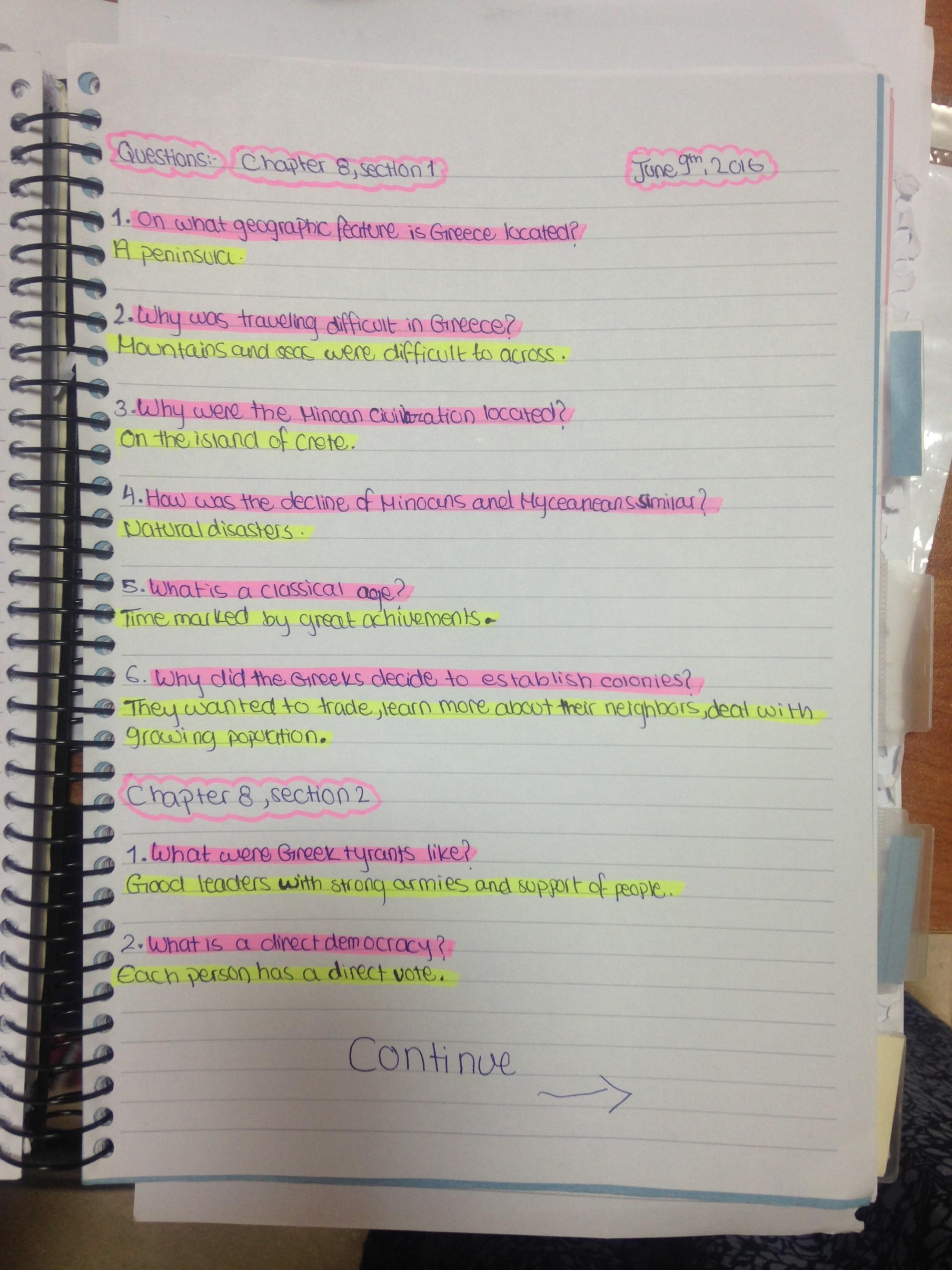 hight resolution of Social Studies – 6th Grade
