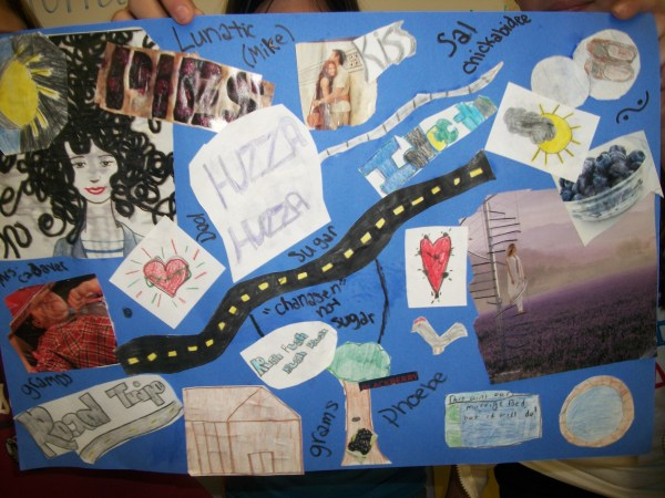 Walk Two Moons Book Collages 6th Grade Scott Foresman