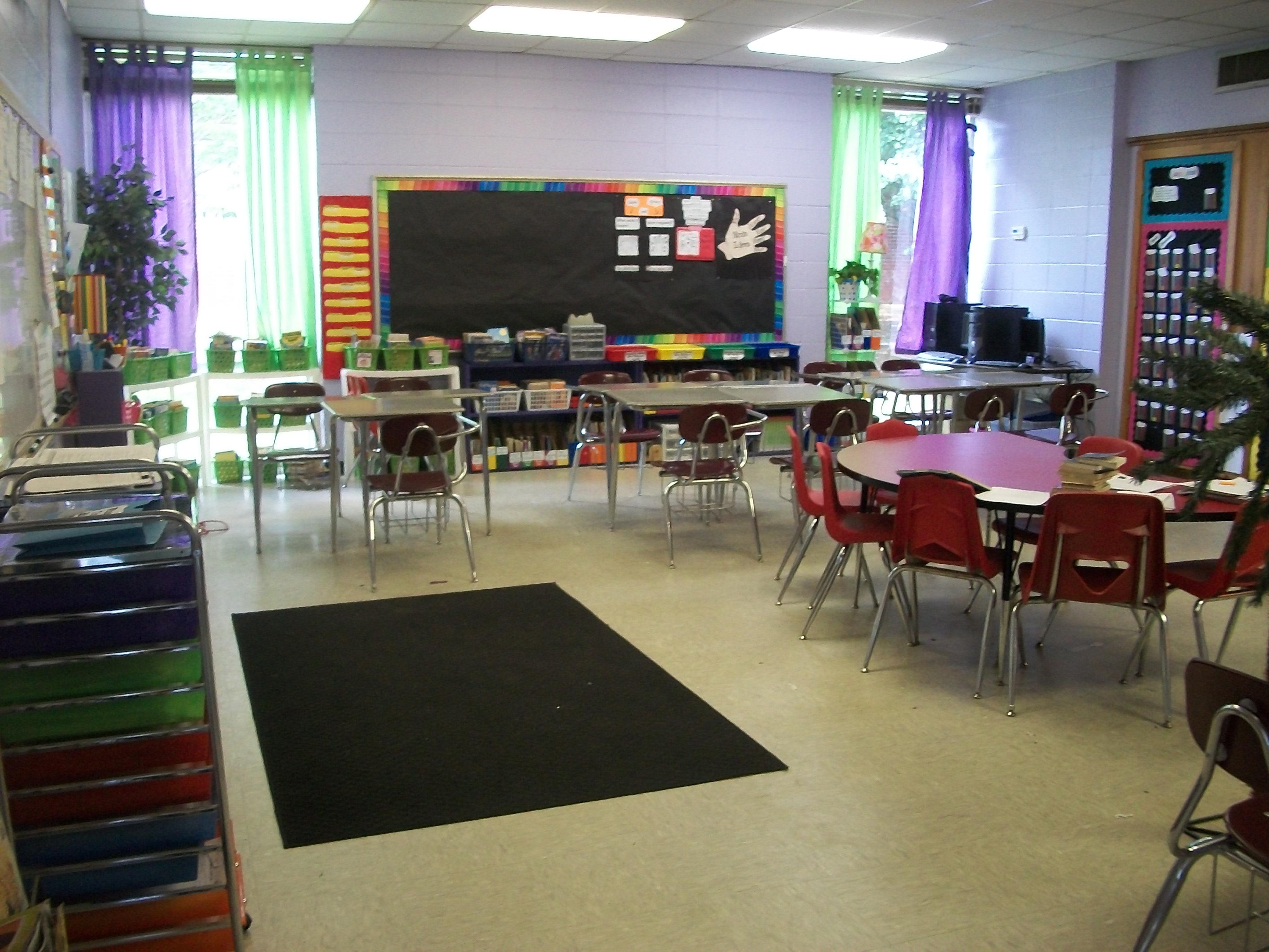 Classroom Rearrangement Again