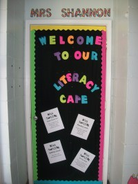 classroom door decoration | i run read teach