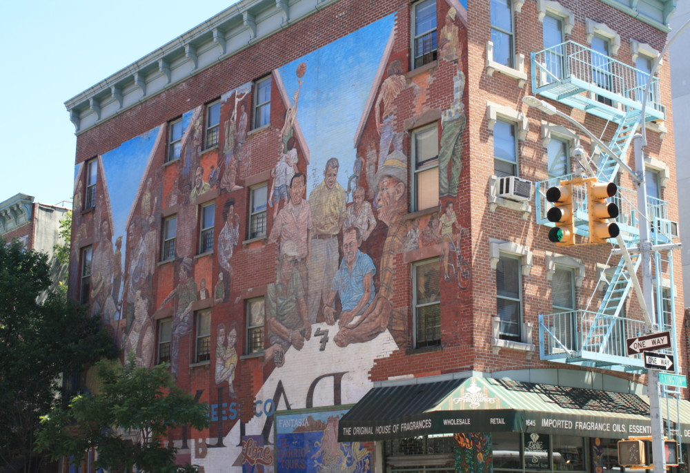 Murals The Spirit of East Harlem  Historic Districts