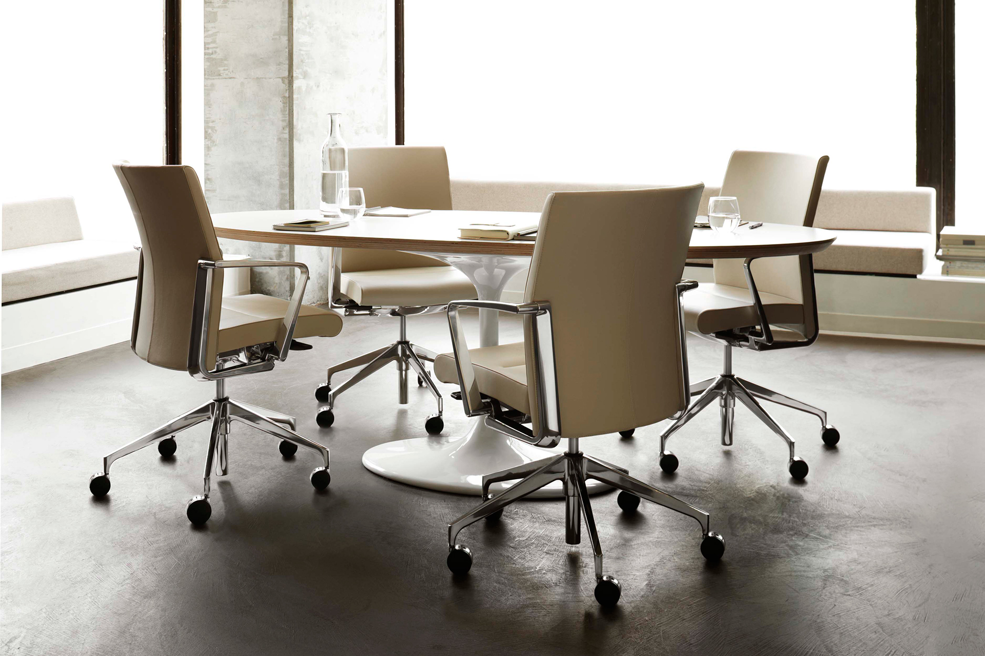 meeting room chairs ergonomic near me modern conference ambience dore leather polished aluminum elegant chair