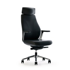 High Back Contemporary Chairs Ergonomic Chair Reviews Australia Black Executive Modern Ambience Doré