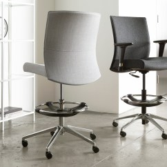 Executive Drafting Chair Plastic Inserts For Metal Legs Check List Ergonomic Ambience Doré