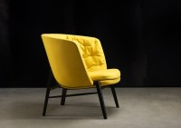 Yellow Contemporary Retro Chair - Ambience Dor