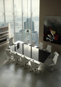 Ultra Modern Contemporary White Leather Chairs - Ambience Dor