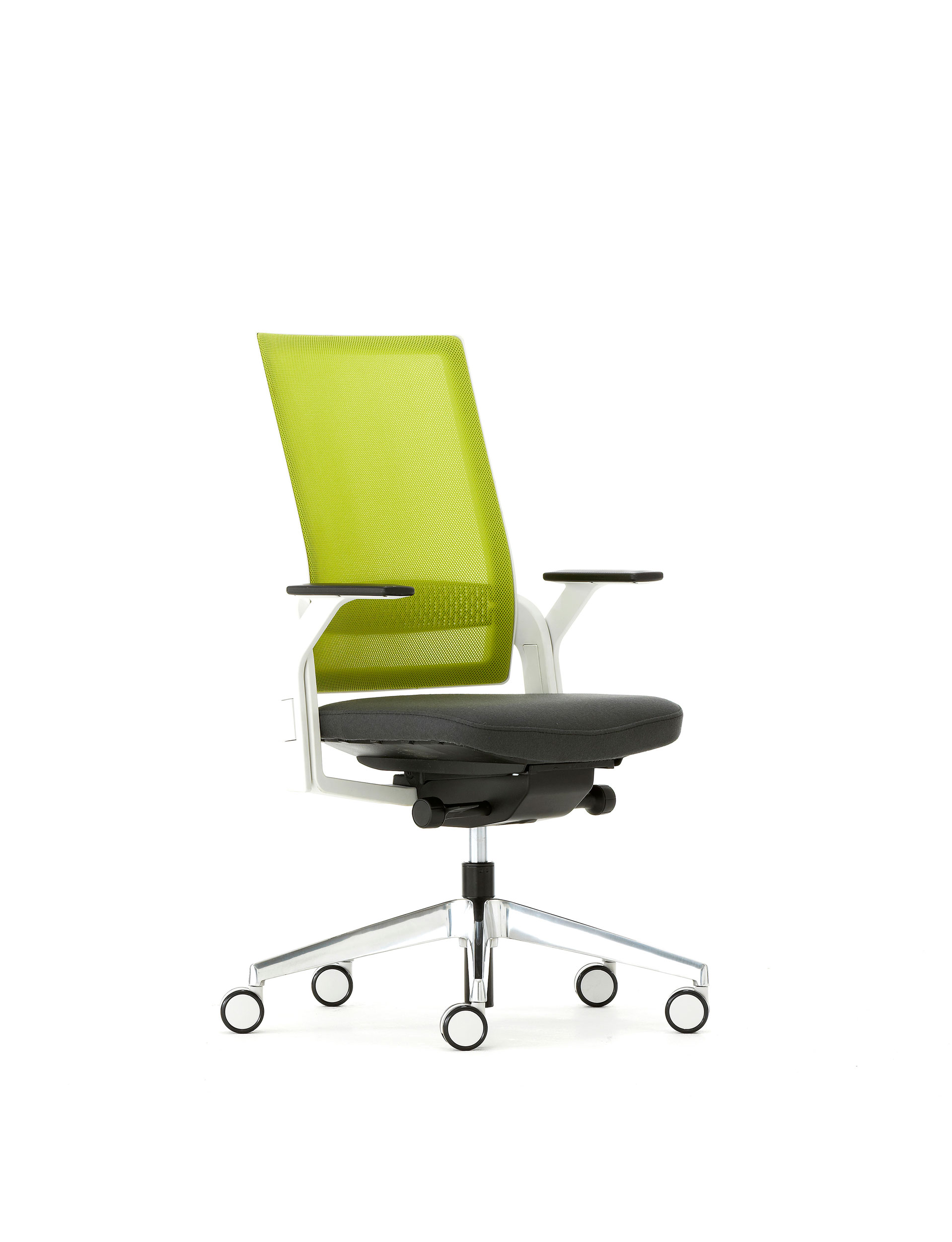 Green Computer Chair Green Lime White Stylish Desk Chair Ambience Doré