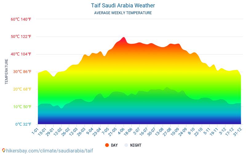 الطائف الطقس في آب أغسطس في الطائف السعودية 2020