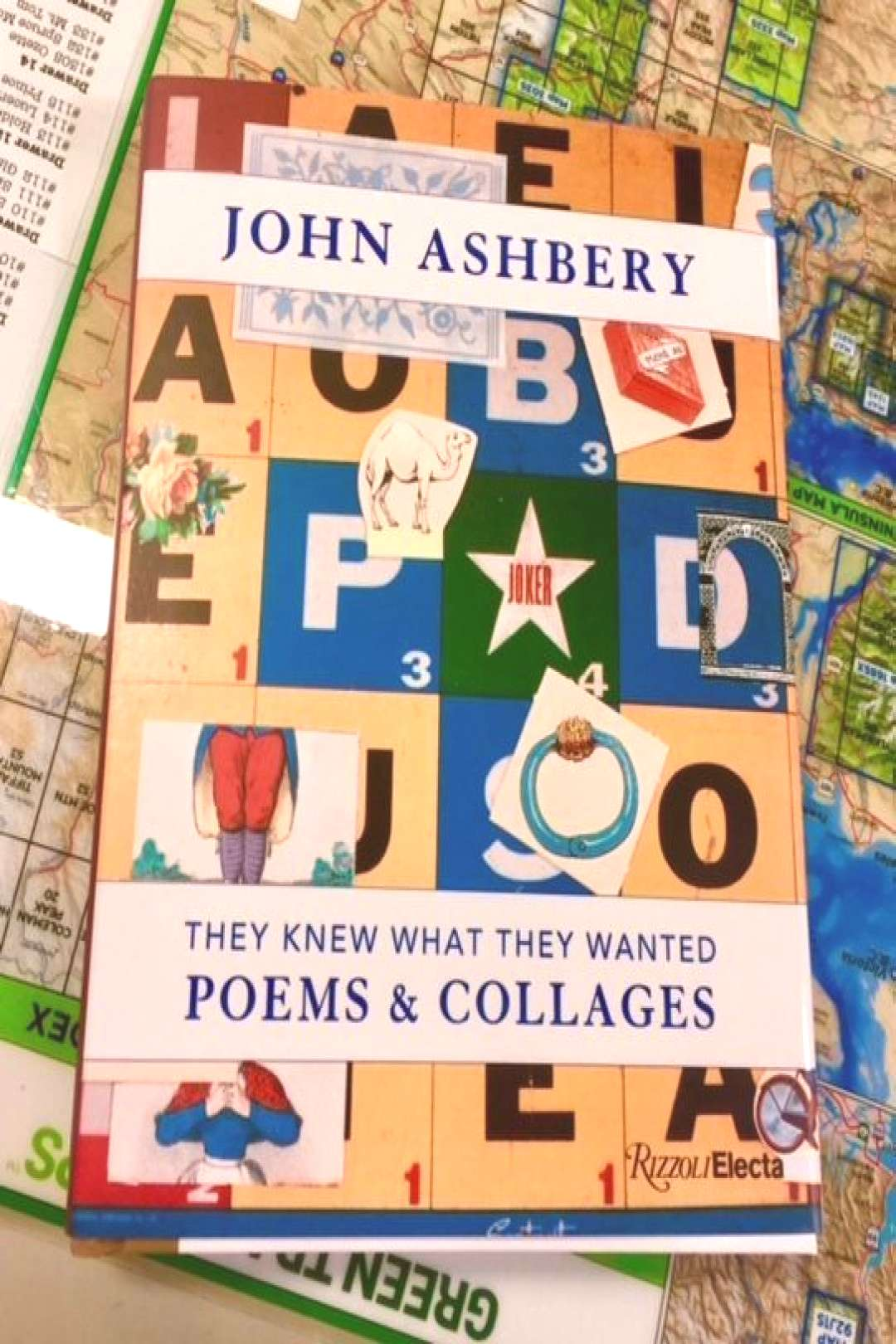New From Rizzoli Electra They Knew What They Wanted Poems Collages By John Ashbery