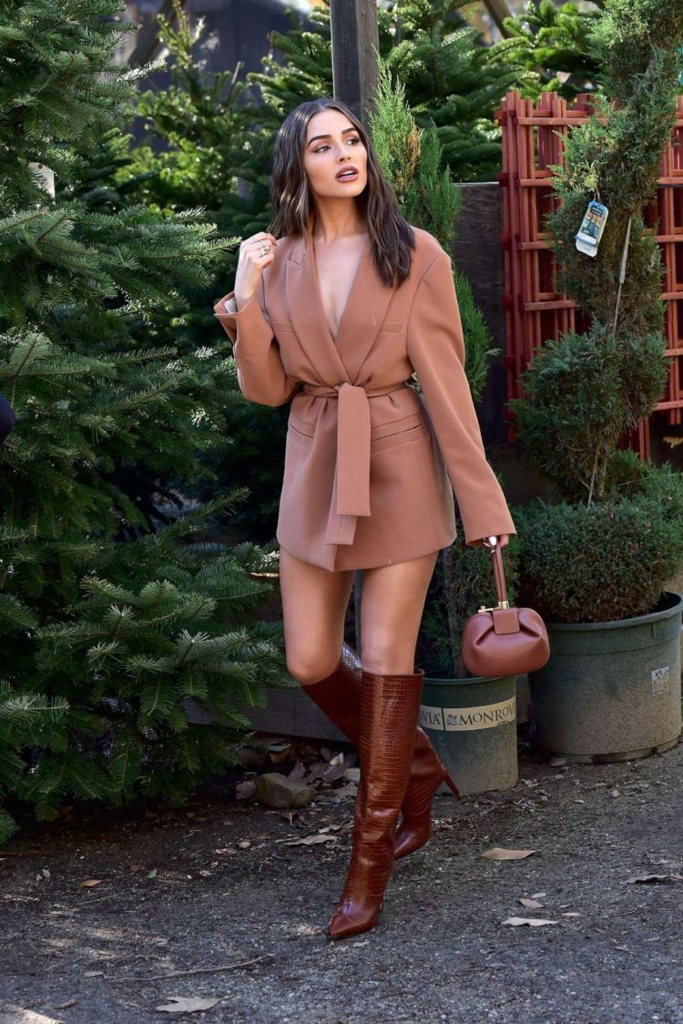 Pretty Olivia Culpo Candids In Boots Out In Los Angeles