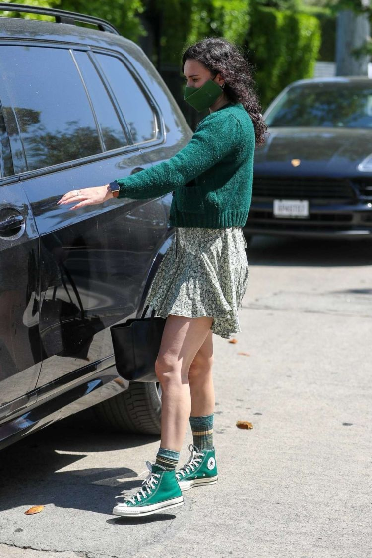 Rumer Willis Spotted Returning From Reforma Pilates In West Hollywood