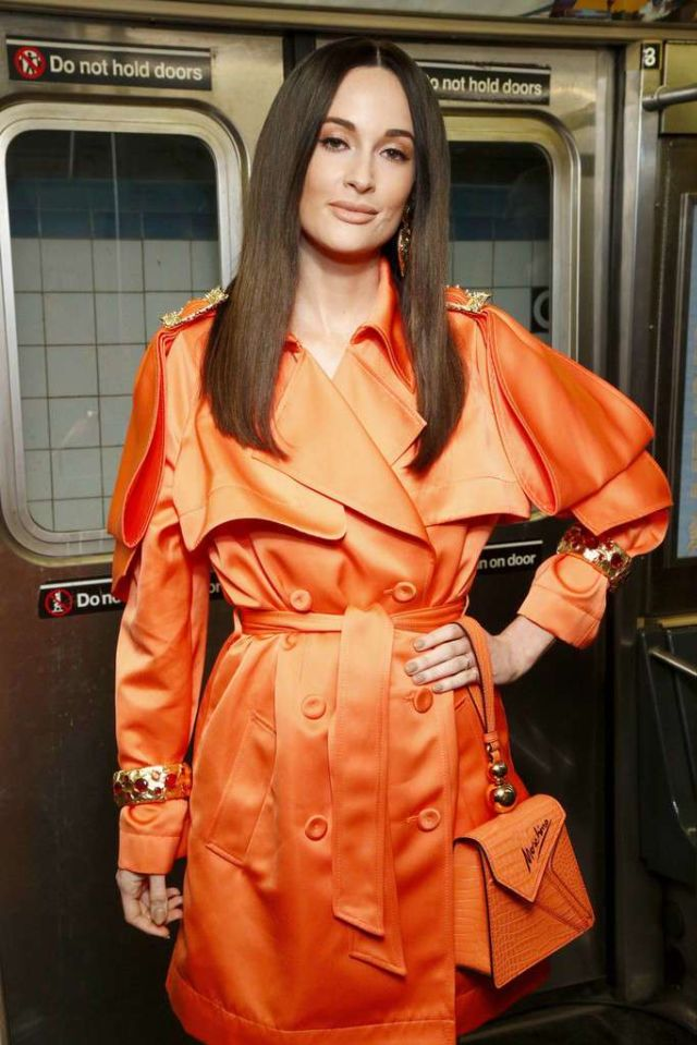Kacey Musgraves At The Moschino Prefall 2020 Runway Show In Brooklyn